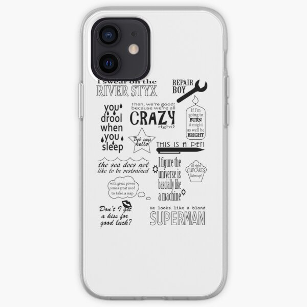 Heroes of Olympus Quotes iPhone Soft Case
