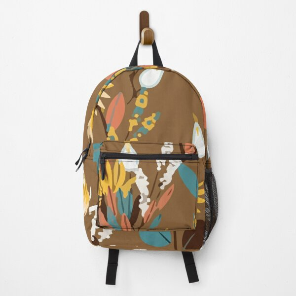 Colorful spring flowers Backpack