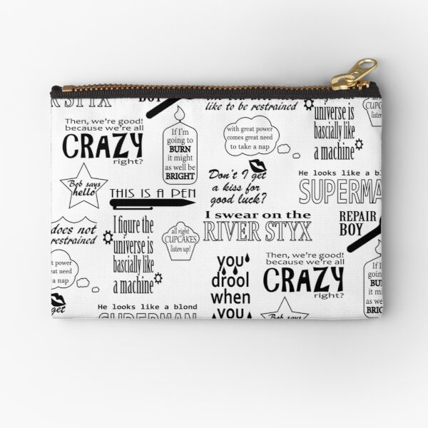 Heroes of Olympus Quotes Zipper Pouch