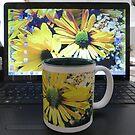 Bright Gems of Earth Mug by AuntDot
