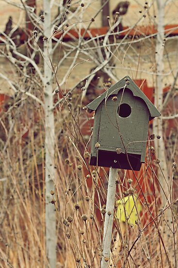 Brick Works Birdhouse by Susan Drysdale
