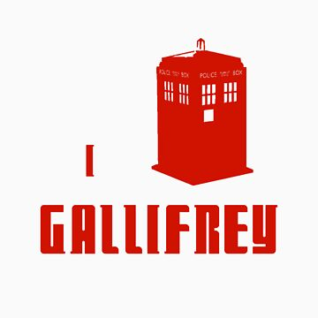 I love Gallifrey by Elvenmagic