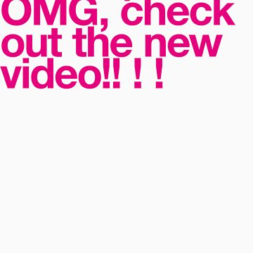 (Spam) OMG video! (Magenta type) by poprock