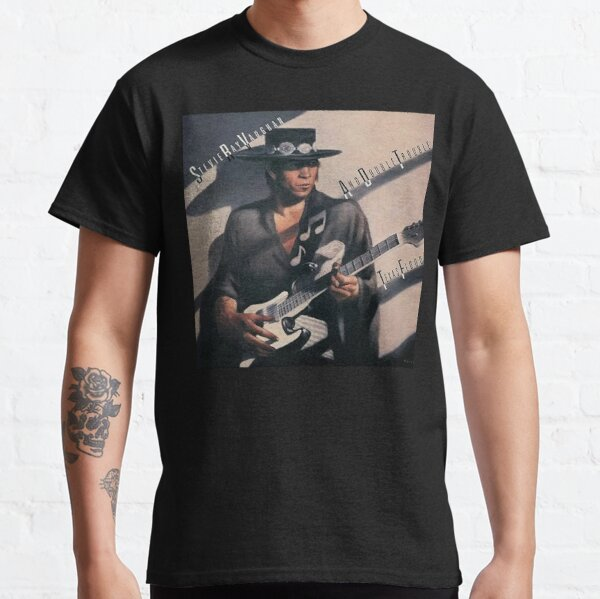 Stevie Ray Vaughan - Texas Flood  Classic T-Shirt