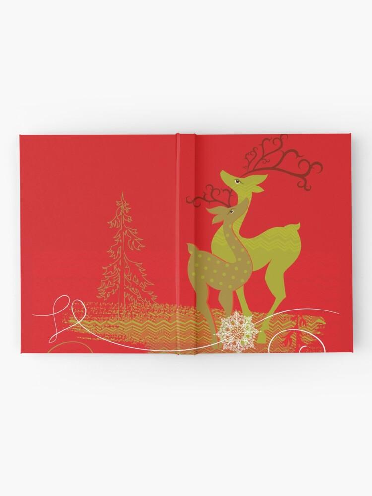 Alternate view of Elegance Couple Deer Hardcover Journal