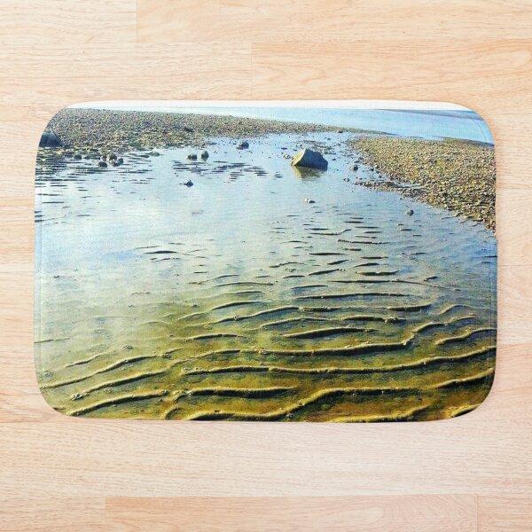 sand sea photography  Bath Mat