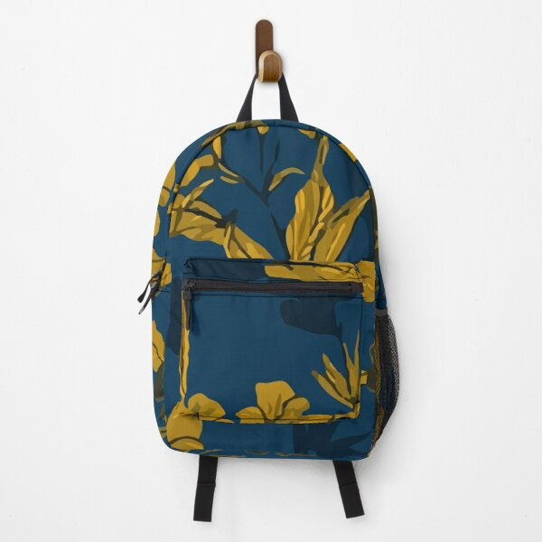 Hand drawn elegant plants pattern Backpack