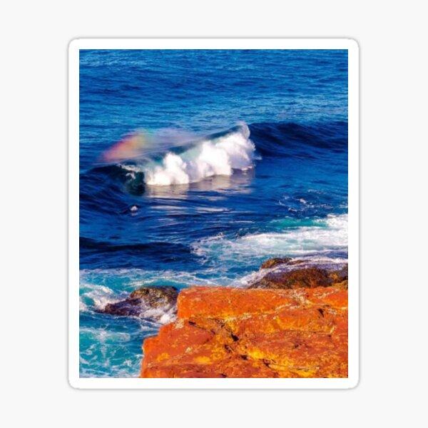 Blue Ocean  Waves  Merimbula ( Australia) Sticker