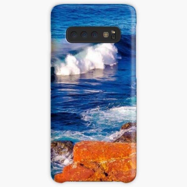 Blue Ocean  Waves  Merimbula ( Australia) Samsung Galaxy Snap Case