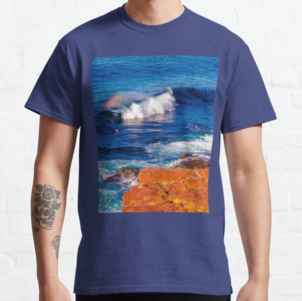 Blue Ocean  Waves  Merimbula ( Australia) Classic T-Shirt