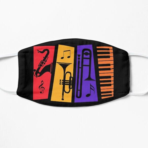 Jazz Instruments Mask