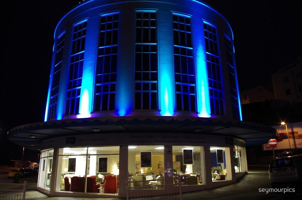 Marine Court Dressed in Blue by seymourpics