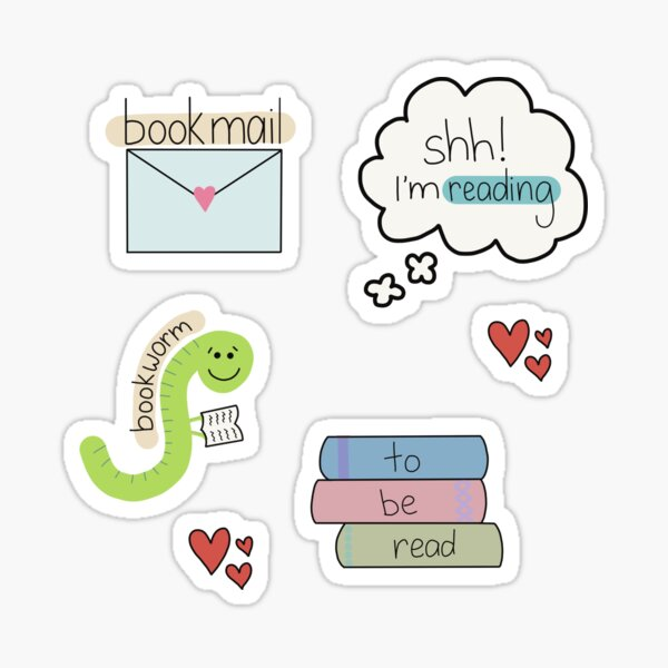 Bookish Sticker Pack Sticker