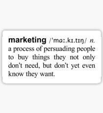 Marketing Sticker