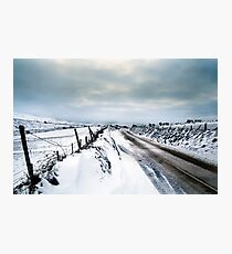 A Snowy Journey Photographic Print