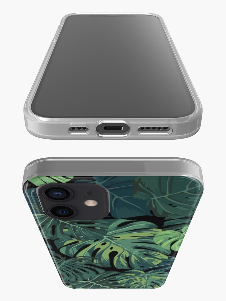 Alternate view of Monstera leaves iPhone Case & Cover