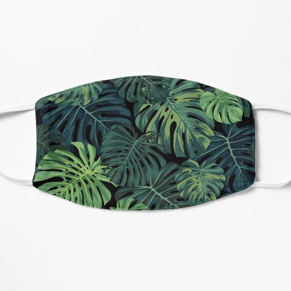 Monstera leaves Flat Mask