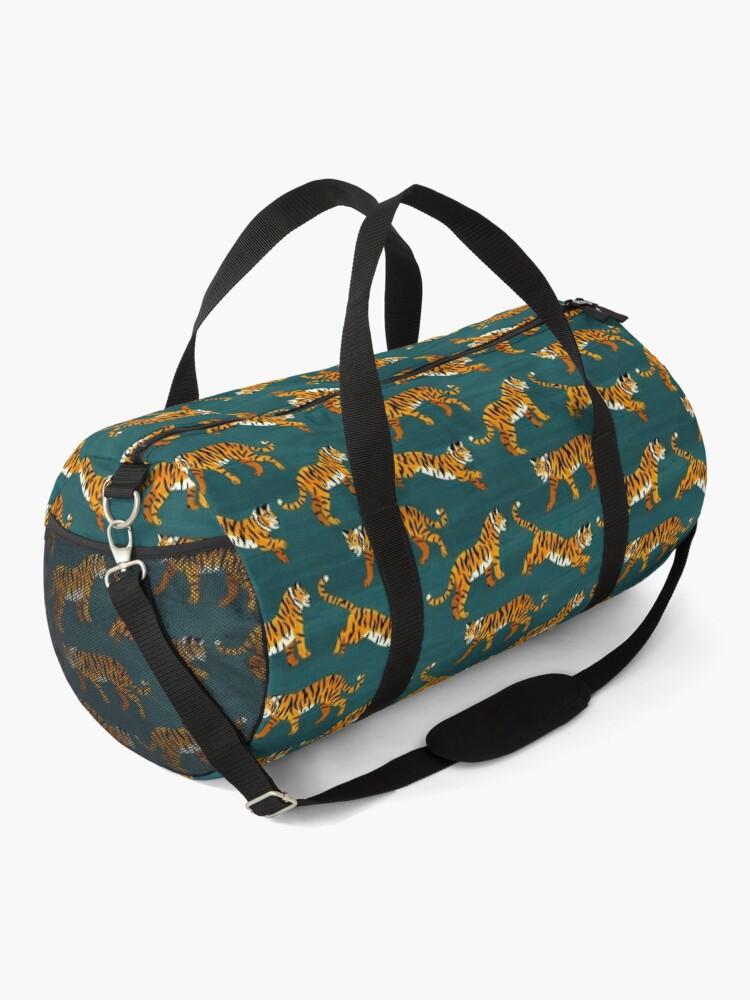 Alternate view of Bengal Tigers - Navy  Duffle Bag