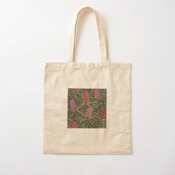 Banksia dot Cotton Tote Bag