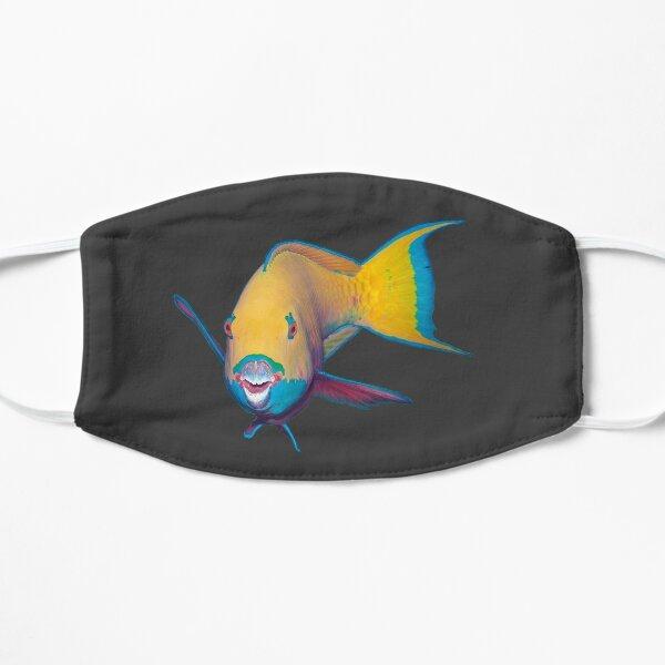 Papageifisch | Wie grell geschminkt |  Flache Maske