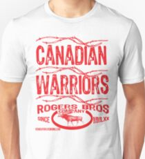 canadian warriors by rogers bros T-Shirt