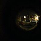 through the peephole by Olly  Pirozek