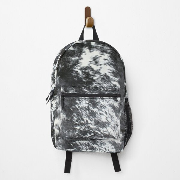 Cowhide Black and White | Texture Backpack