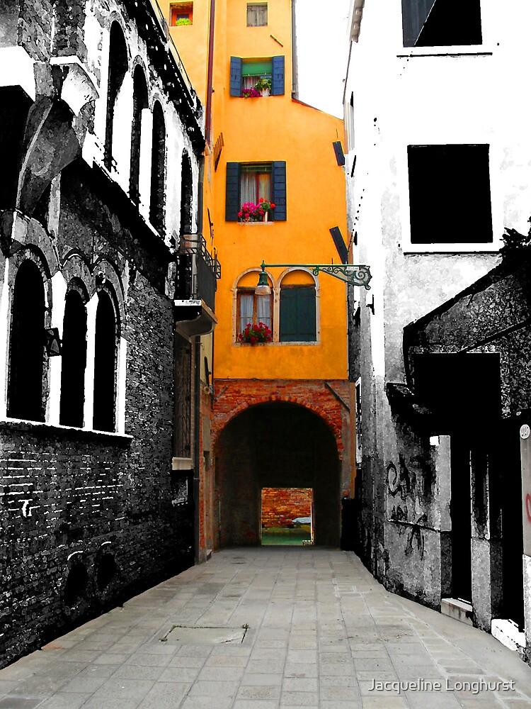 A Sidestreet in Venice by Jacqueline Longhurst