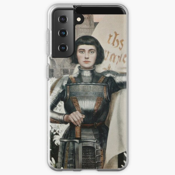 A 1903 engraving of Joan of Arc. Samsung Galaxy Soft Case