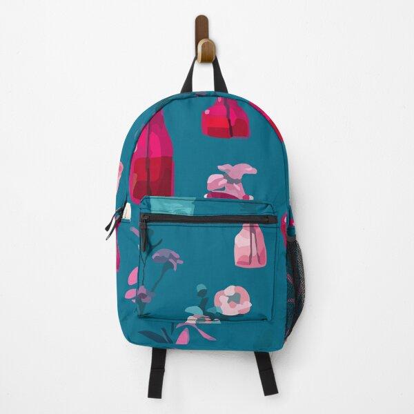 Natural flower pattern Backpack