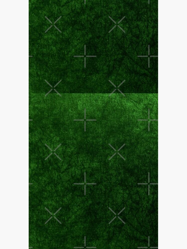 Emerald Green Grass Velvet | Texture  by koovox