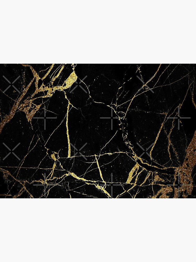 Black and gold Marble | Texture  by koovox