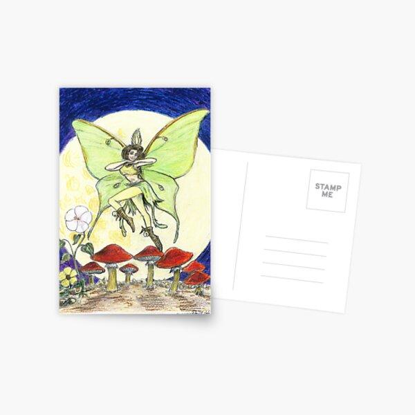 Luna Moth Postcard