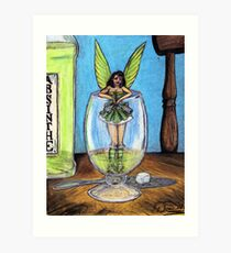 The Green Fairy Art Print