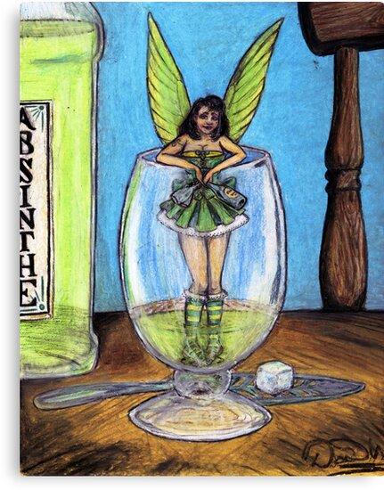 The Green Fairy by David Webb