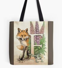 F is for...  Tote Bag