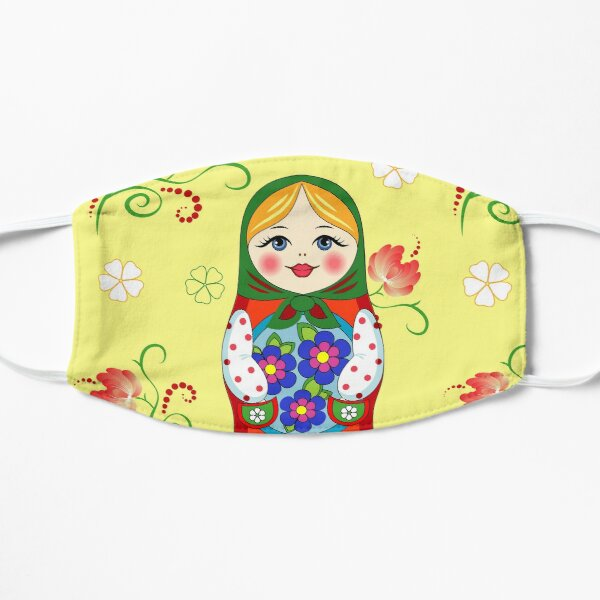 Adorable Russian doll Mask