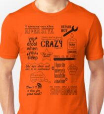 Heroes of Olympus Quotes T-Shirt