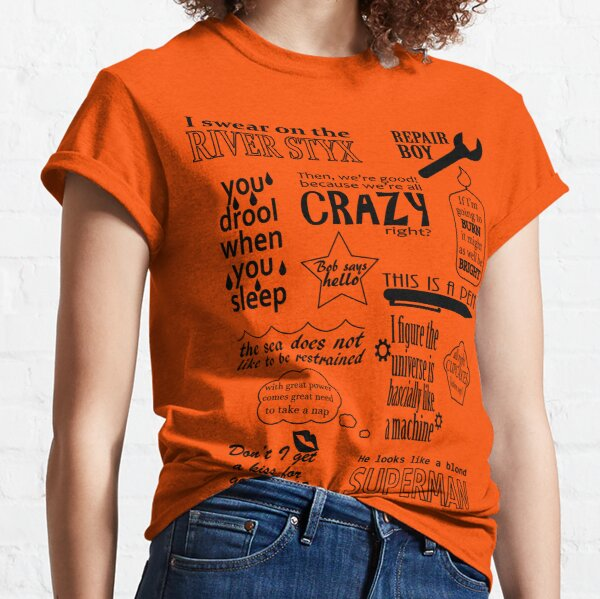 Heroes of Olympus Quotes Classic T-Shirt