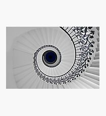 Tulip Staircase, Queens House, Greenwich, England Photographic Print
