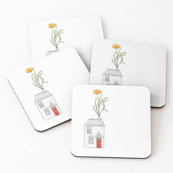 Home Grown  Coasters (Set of 4)