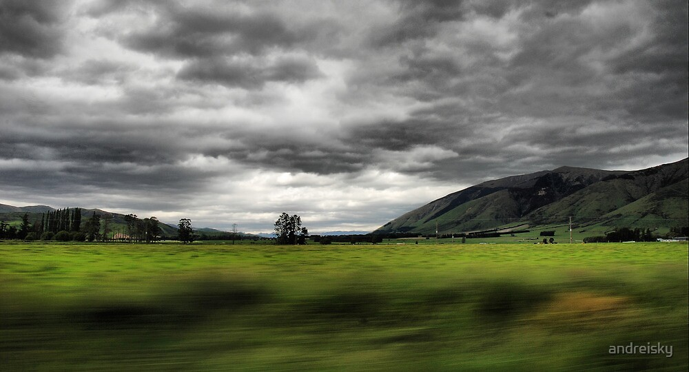 Crossing country by andreisky