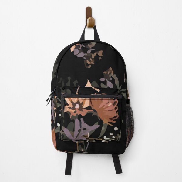 Stylish blooming floral garden night Backpack