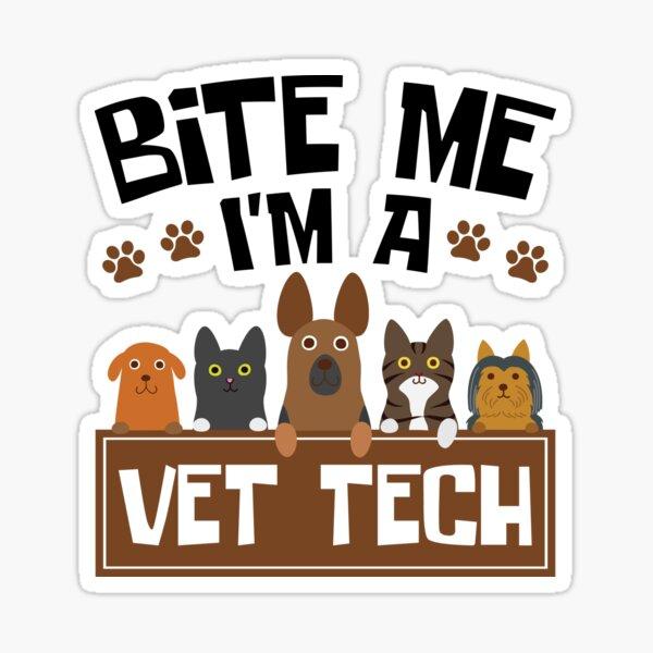 Vet Tech Stickers Redbubble