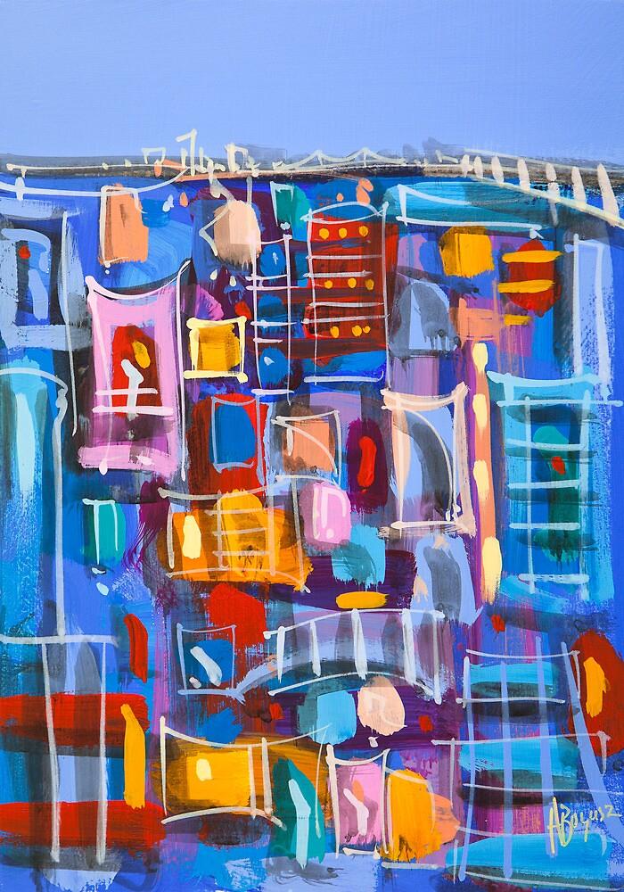 Blue Brisbane by Adam Bogusz