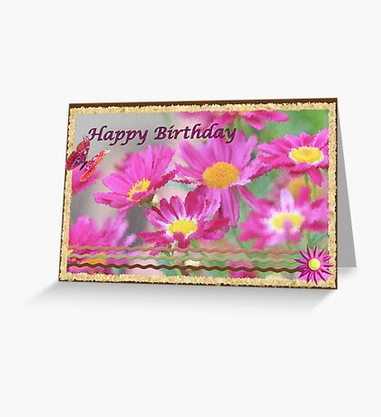 Daisys Galore. Greeting Card