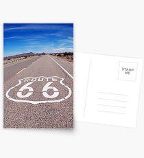 Route 66 Postcards