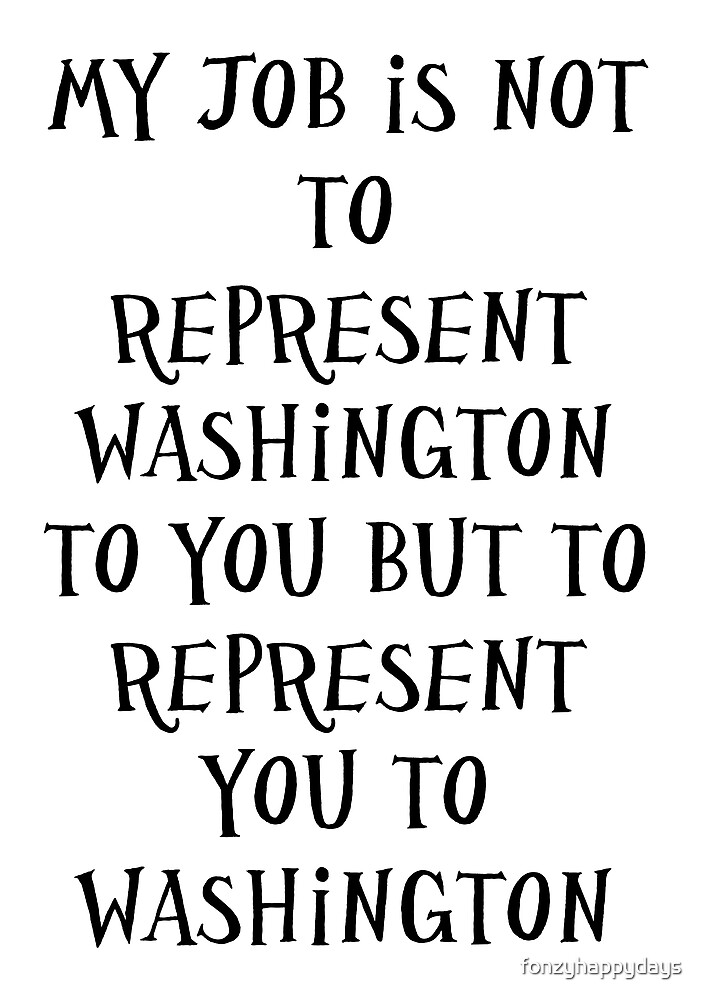 President Obama on Washington  by fonzyhappydays