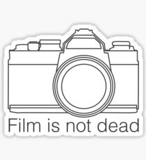 Film is not dead Sticker