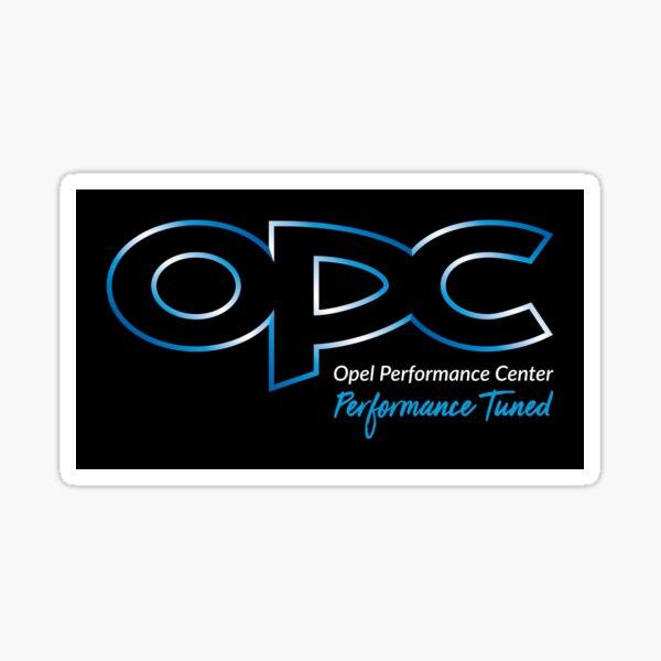 OPC Opel Emblem - durchsichtig Sticker